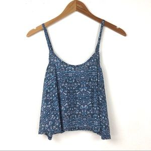 Abercrombie & Fitch | Open Back Crop Tank Top